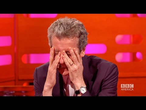 PETER CAPALDI's Most Embarrassing DOCTOR WHO Fan Club Letters - The Graham Norton Show BBC AMERICA