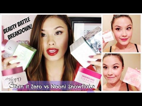 Beauty Battle Breakdown! Banila Co Clean it Zero vs Nooni Snowflake Cleanser Review