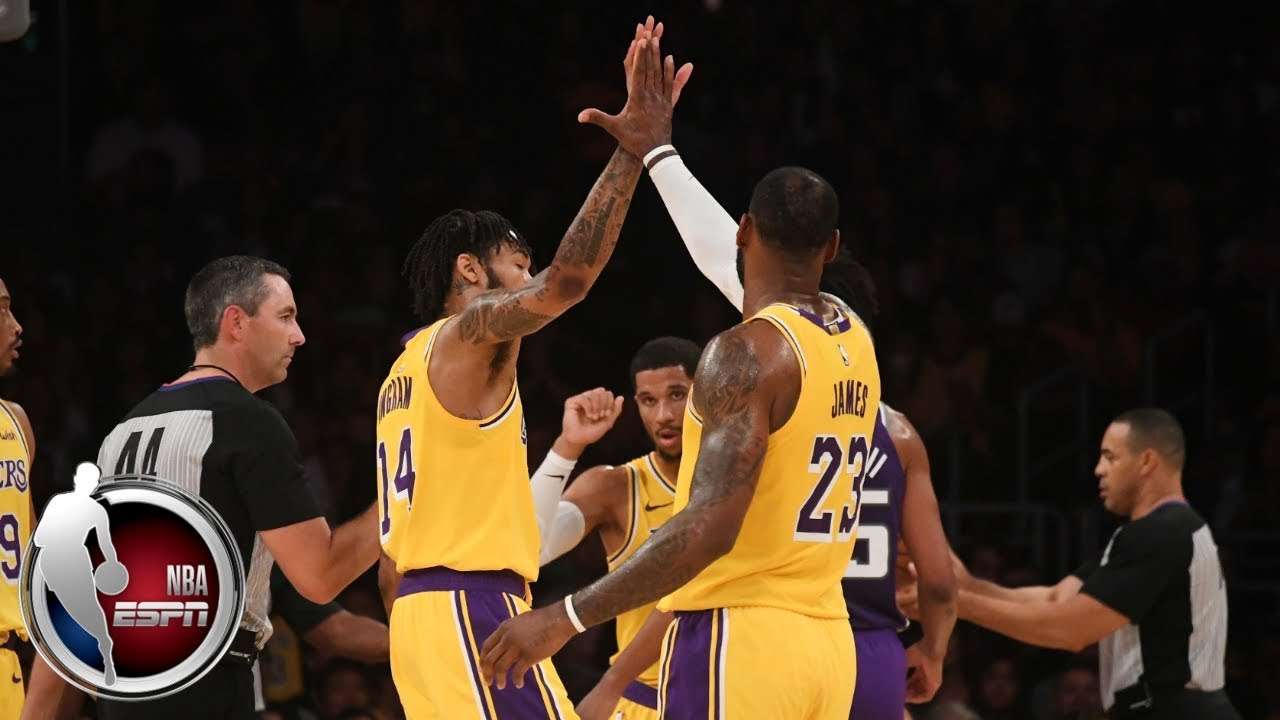 LeBron, Ingram light up Staples Center in Lakers' win vs. Kings   NBA Preseason Highlights