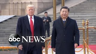 Trump changes tone on China and trade