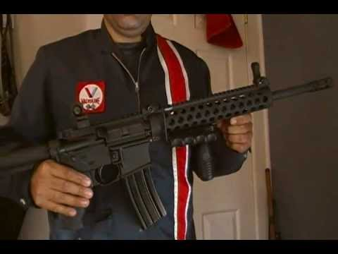 Troy Del-ton Aero precision midlength ar 15 hk type zombie killer rifle