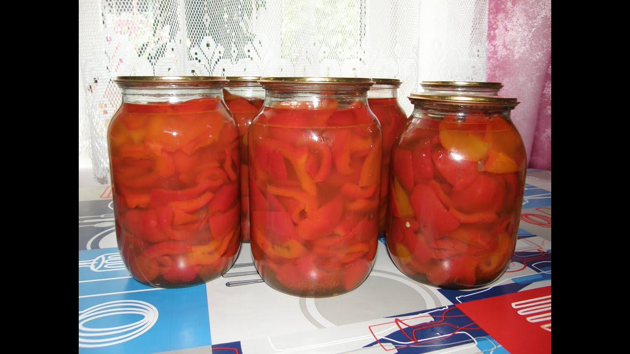 Как сделать маринованный болгарский перец на зиму