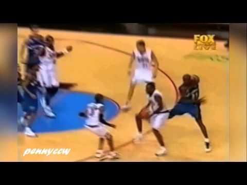 Allen Iverson 40pts vs. Michael Jordan 30pts (2002) *reupload in better quality