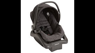 Cosco Lift and Stroll Plus Travel System with Light 'N Comfy Infant Car Seat, Black Arrows