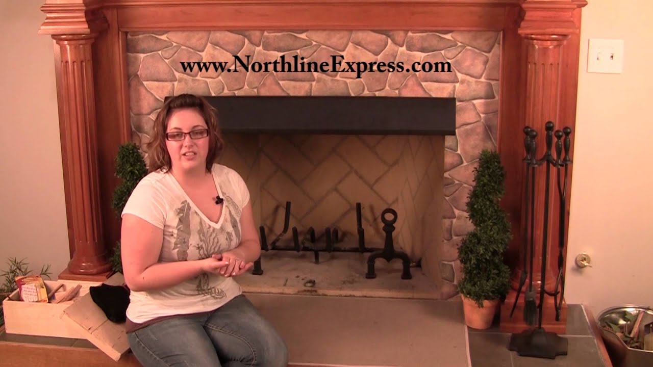 Protect Your Mantle And Fireplace Surround With A Black