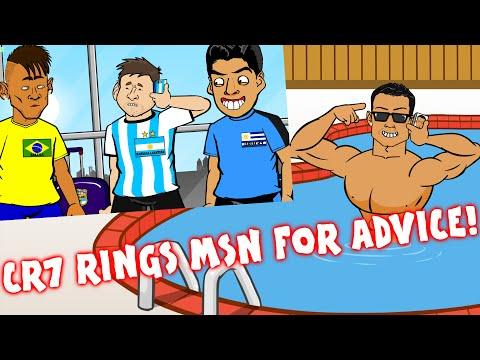 RONALDO rings MESSI/MSN for advice (Parody)(Real Madrid vs Atletico Champions League Final 2016 1-1)