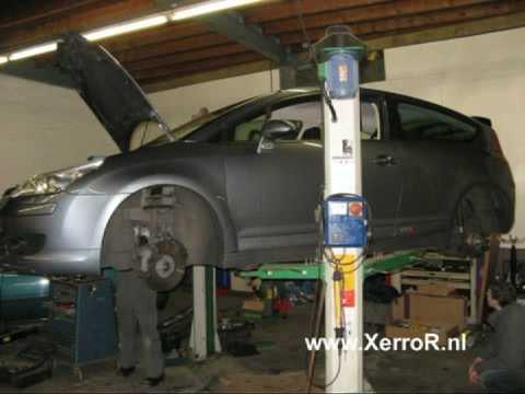 Citroën C4 Coupe 2.0i 16V VTS 177HP lowering KW Suspension Kit XerroR