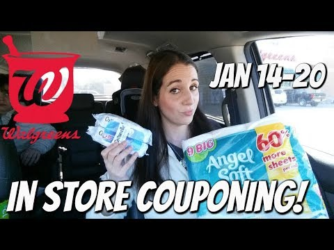 WALGREENS IN STORE COUPONING 1/14/18-1/20/18! HOT PAPER DEALS!
