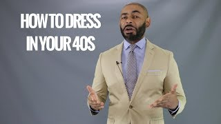 Men's Style In Their 40s/How A Man Should Dress In His 40s/How Men in Their 40s Should Dress