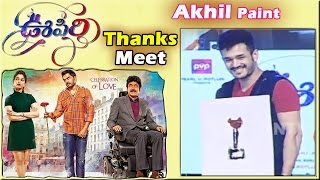 akhil-akkineni-paints-oopiri-movie-thank-you-meet-nagarjuna-karthi-tamannaah-success-meet