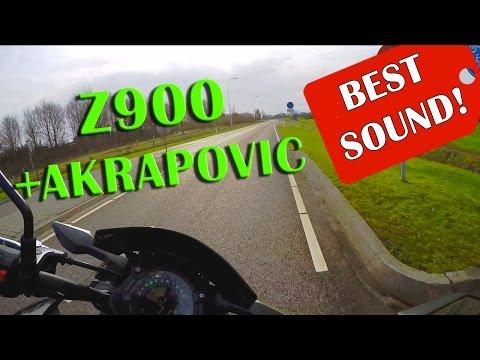 Kawasaki Z900 Akrapovic Exhaust - Perfect Sound Review!