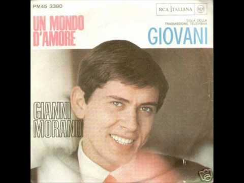 Gianni Morandi - Un mondo d'amore Music Videos