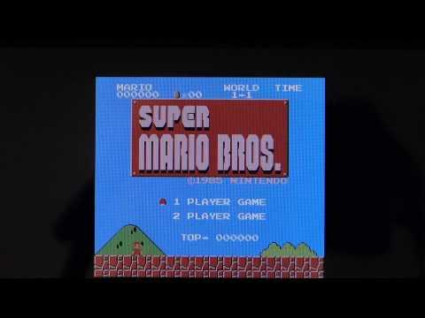 NES   Super Mario Bros 1 hmm Gameplay on PSP