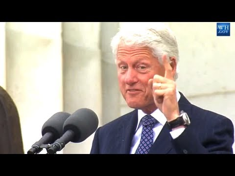 Bill Clinton's Speech at the 50th Anniversary of the March on Washington
