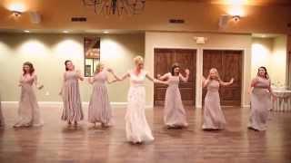Epic Wedding Party Dance