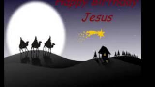 happy birthday jesus, i'm so glad it's christmas