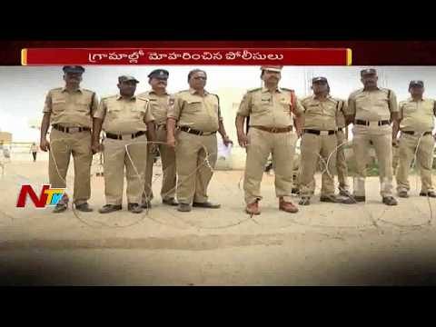 Security Tightens at SRSP Project / Dam | Nizamabad Farmers Demand for SRSP Water | NTV