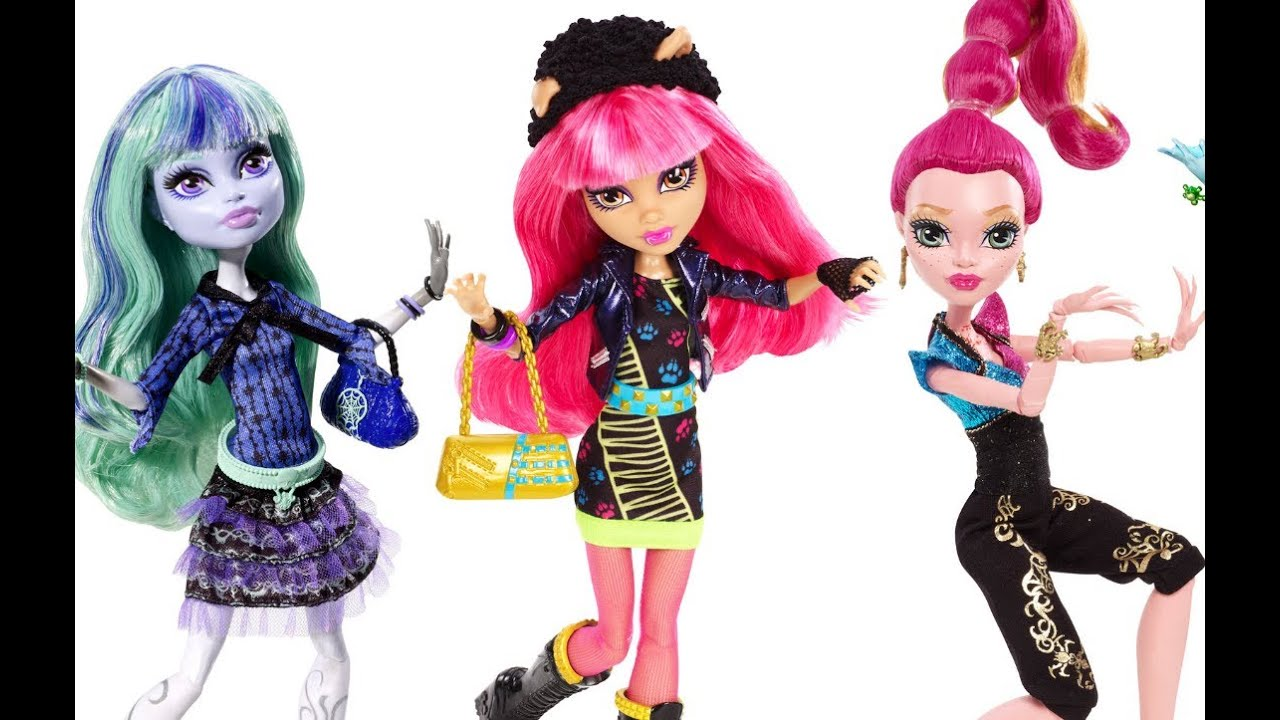 New 13 Wishes Monster High Dolls Mattel Official YouTube