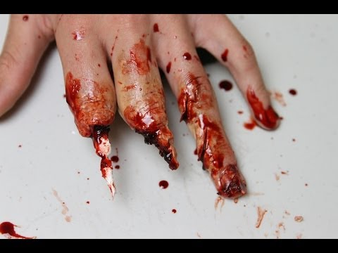Mutilated Hand Makeup (Using Wax) Tutorial | Freakmo