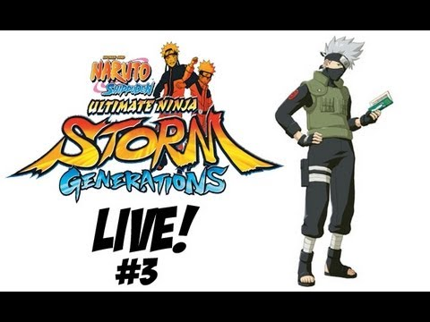Naruto Shippuden Ultimate Ninja Storm Generations LIVE Subscriber Battles Youtube Edition #3