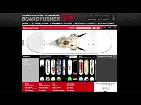 Customizable Skateboard Designs