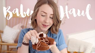 FIRST BABY CLOTHING HAUL | Rhiannon Ashlee