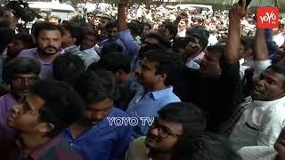 Allu Sirish at Film Chamber to Support Pawan Kalyan Protest   Sri Reddy Controversy  YOYO TV Channel
