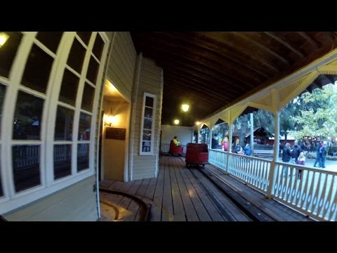 Knoebels Haunted House POV HD Dark Ride Front Seat On Ride GoPro Video Halloween Scary Family Fun