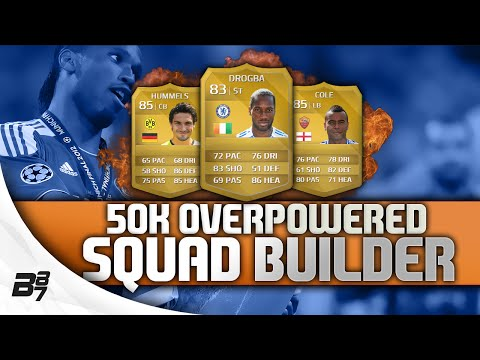 50K OVERPOWERED SQUAD BUILDER FIFA 14 Ultimate Team