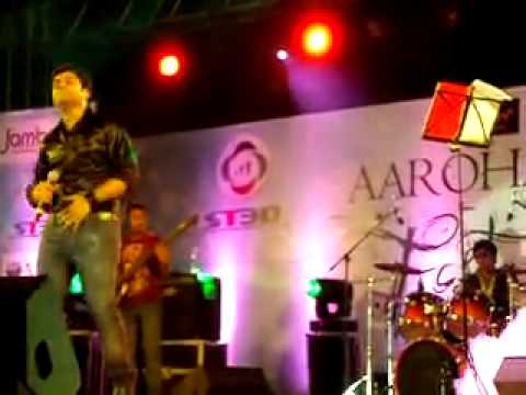 Aarohan10 Indian Idol 5 Sreeram Live In Concert Hyderabad Rehnuma Launch video