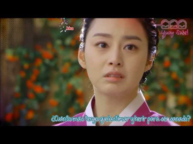 MV OST Jang Ok Jung Live For Love - Lim jae beum -Sorrow song ( Sub Español + Karaoke)