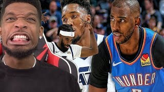 CP3 WONT AVG 20PTS THO!? Oklahoma City Thunder vs Utah Jazz - Full Game Highlights