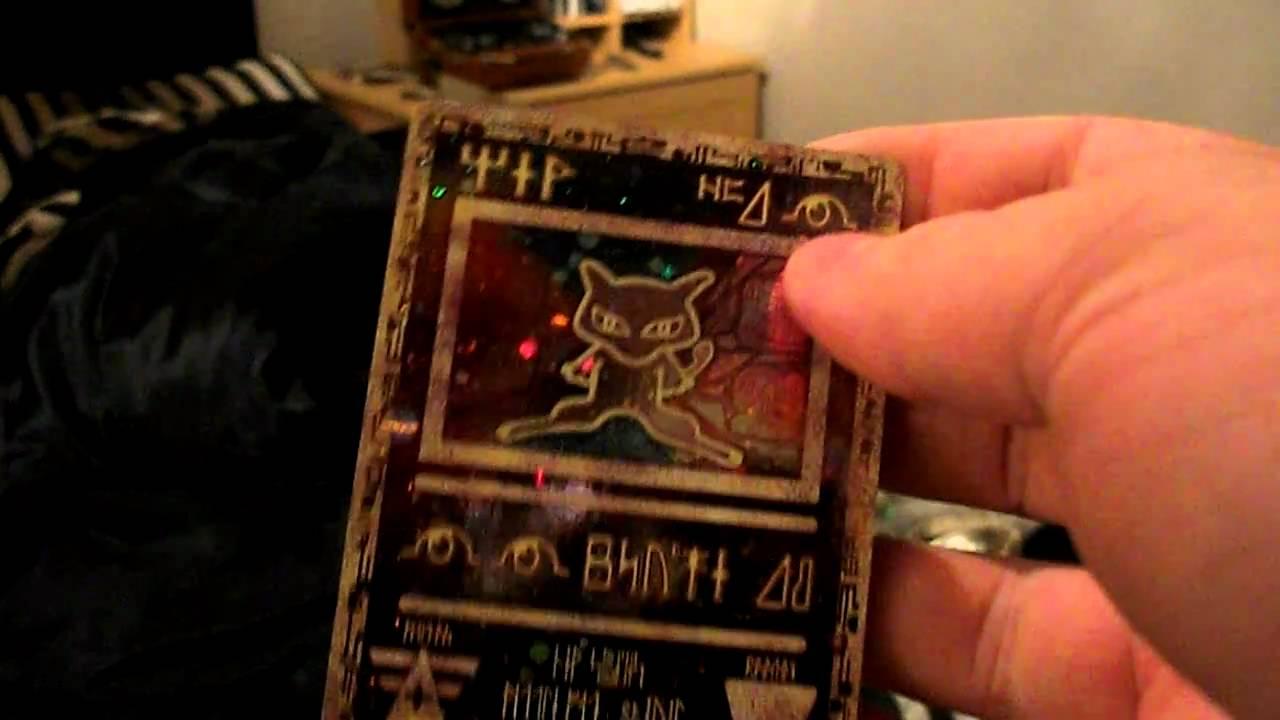 My Ancient Mew Pokemon...