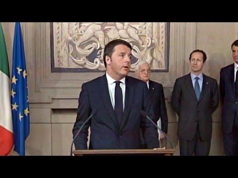Matteo Renzi incaricato Presidente del Consiglio da Napolitano