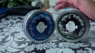 MAGNETIC Thinking Putty Comparison Video Review:Oldschool Strange Attractor vs. Newer Tidal Wave!