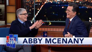 Abby McEnany Gets Improv Notes From Her Second City Teacher, Stephen Colbert