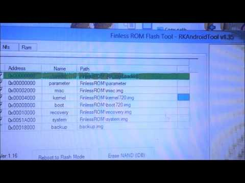 How to Flash Finless Rom on MK808