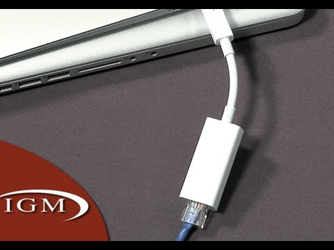 Macbook  Thunderbolt Ethernet on Thunderbolt To Gigabit Ethernet Adapter Is Intended For Macbook Air
