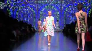 Dolce and Gabbana Spring   Summer 2012 Full Show   EXCLUSIVE   YouTube