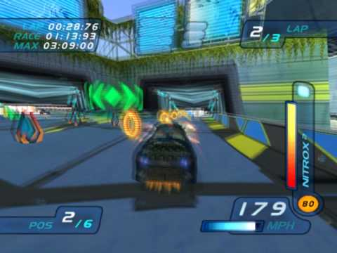 Hot Wheels World Race Level 4 of 15 Vapor City