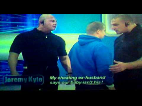 biggest knobhead ever on jeremy kyle.