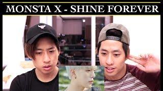 MONSTA X SHINE FOREVER MV REACTION TWINS REACT