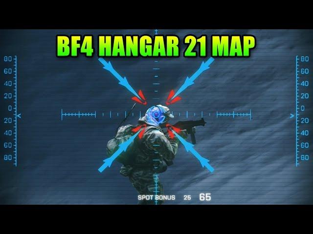 Hangar 21 Map - Titan & Man Canon!   Battlefield 4 Final Stand DLC