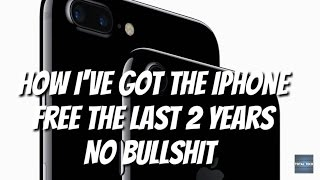 How to get the iPhone 7 for free. NO BS