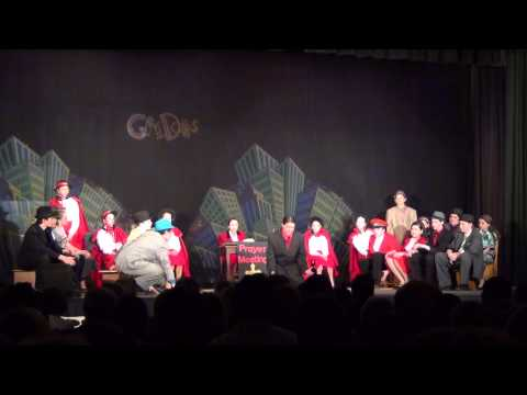 Guys and Dolls Scene 13 - Sit Down Your Rocking the Boat - Monsignor Slade Catholic School