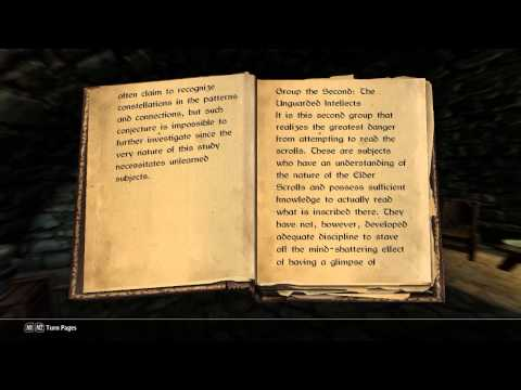 Skyrim: Effects of the Elder Scrolls
