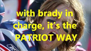 """The Patriot Way"" -- New England Patriots tribute*"
