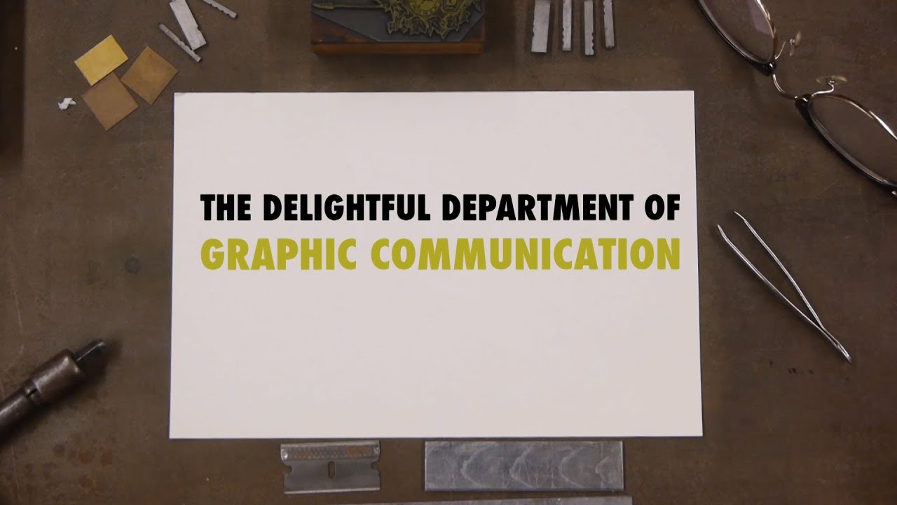 Graphic Communication Drawings of Graphic Communication