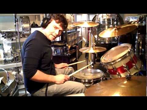 How To Play THE CRUNGE Drums LED ZEPPELIN  John Bonham