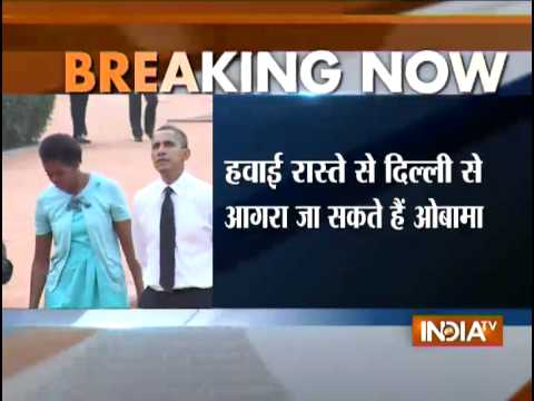 Barack Obama May Depart India Directly from Agra After Taj Visit - India TV